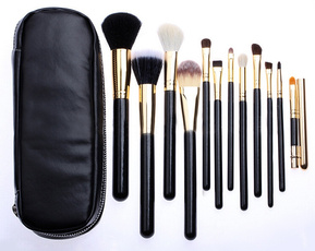 12pcsmakeupbrush, case, Makeup, Beauty