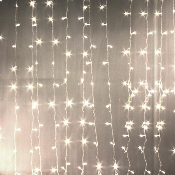 300 led户外mx3m圣诞节圣诞童话婚礼窗帘灯220 v的新字符串