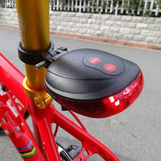 Tail Light for Bicycle Lamp Waterproof 5LED Rear Flashing Bike Cycling Lamp Safety