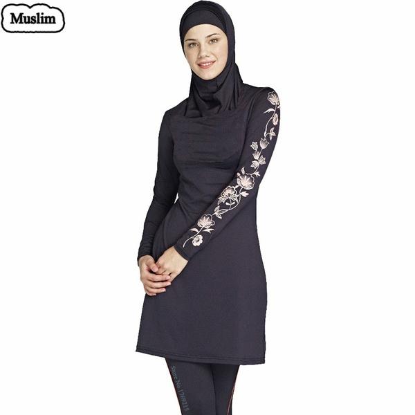 Wish | Quality Modest Islamic Swimwear Muslim Swimwear Islamic Swimsuit For Women full coverage swimwear clothes hijab swimming suit  sc 1 st  Wish & Wish | Quality Modest Islamic Swimwear Muslim Swimwear Islamic ...