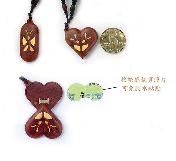 Wish the illusionist red sandalwood locket butterfly pendant 52 49 aloadofball Gallery