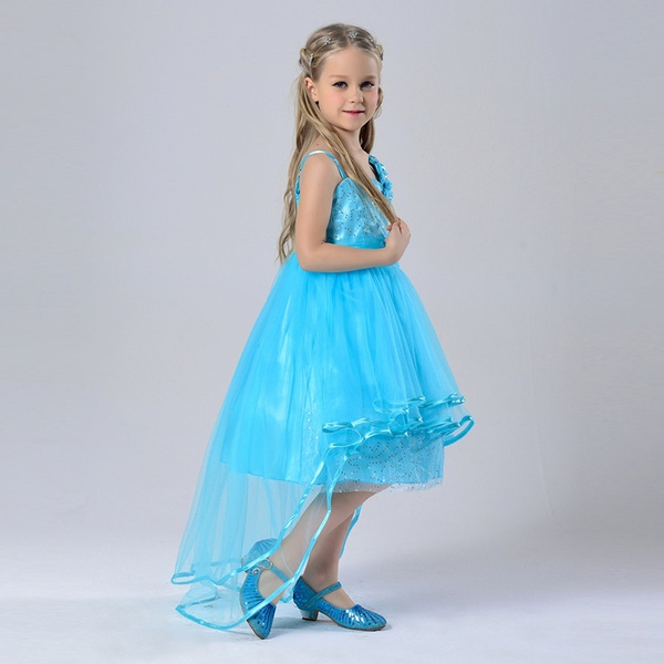 Wish | Kids Girl Pageant Bridesmaid Wedding Prom Party Ball Gown ...