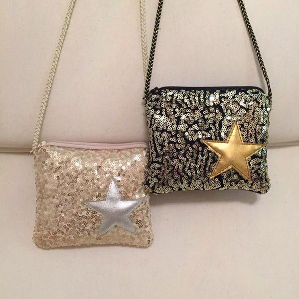 946d08e8e6 5pcs/lot Kids Purses and Handbags Bling bling Small Bag Girls Cute Mini  Crossbody Bags Children Fashion Messenger Bag