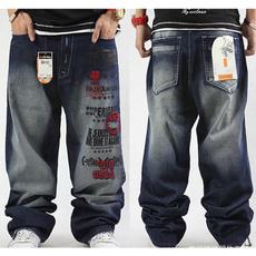 Plus Size, letter print, pants, Dance