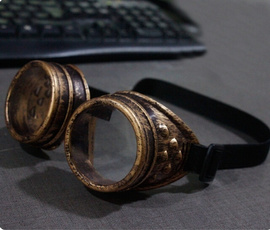 Vintage Style Steampunk Goggles Welding Punk Gothic Glasses