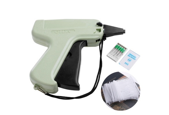 New Price Label Tagging Clothes Garment Tag Gun + 1000 Barbs + 5 Needles TYA