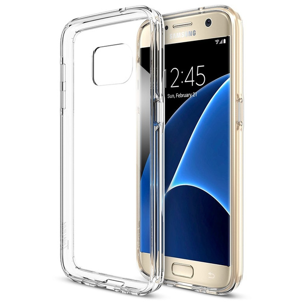 Picture of Ultra Thin Transparent Clear Tpu Silicone Gel Soft Case Skin Cover For 5/5s/6/6 Plus/6s/6s 7 Plus For Samsung Galaxy S3 S4 S5 S6 S6 Edge S7 S7 Edge S8 Plus J1 J3 J5 J7 A3 A5 A7 Grand Prime J5 Note 7 Coque Fundas