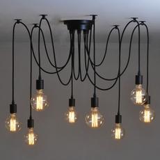 pendantlight, E27, Iron, lofts