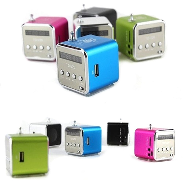 Picture of Hot Micro Sd Tf Mini Usb Speaker Music Player Portable Fm Radio Stereo Pc Mp3