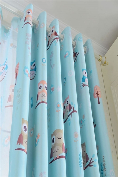 Wish | 1pcs 1*2.7m ILife Store Room Curtains For Kitchen The Bedroom Living  Room Design Baby Owl Curtains Shade Panel Blackout Drapes Fabric