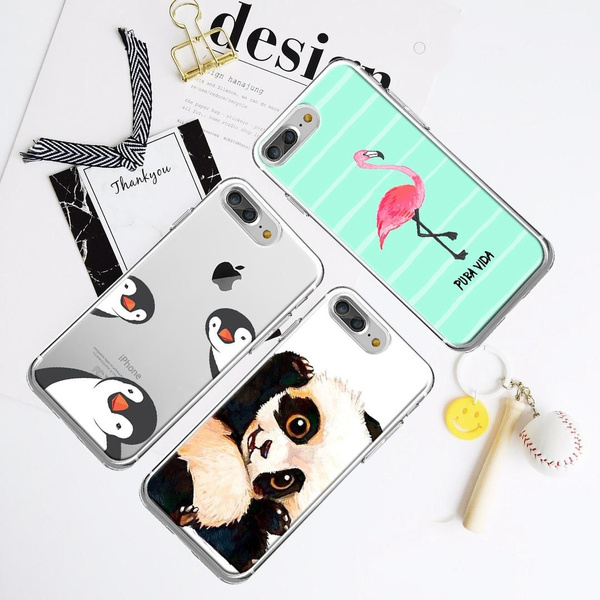 Picture of Samsung Galaxy S8 S8 Plus Funny Illustration Penguin Phone Case For Iphone 5 5c 6/6s 6 Plus/samsung Galaxy S5 S6 S6 Edge/plus/note 4 3/a7 A8 Etc