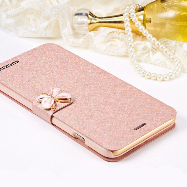 Luxury Flip Leather Slim Wallet Card Magnetic Case Cover For iPhone 5S 6 6S Plus