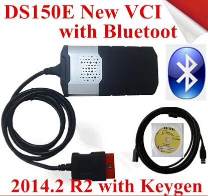Hot vci delphi ds150e with bluetooth SCANNER TCS cdp pro plus with LED 3  IN1 CDP DS150