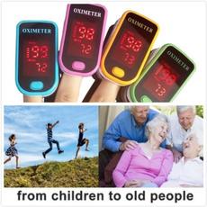 Fingertip Pulse Oximeter Finger Blood SpO2 Pulse Rate Heart Rate Monitor