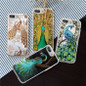 Picture of Samsung Galaxy S8 S8 Plus Art Peacock Printed Phone Case For Iphone 4/4s 5/5s 5c 6/6s 7/7 Plus/samsung Galaxy S5 S6 S6 S7 Edge/plus/note 7 5 4 3/a7 A8 Etc