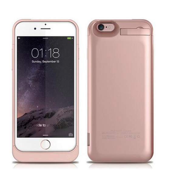 new arrivals e6182 baf6b External Battery Case Power Charger Charging Cover for iPhone 7 / 6 / 6S /  6 plus / 6S plus / iPhone SE / iPhone5 / iPhone5S