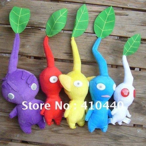 New Pikmin Plushies Dolls Set of 5PCS Bud~ STUFFED ANIMAL TOY