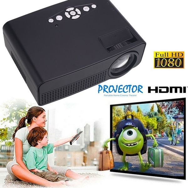 Picture of Newest Unic Uc46 Wifi Portable Led Video Home Cinema Projector Laptop Pc Vga/usb/sd/hdmi Wireless Mini Pocket Projector