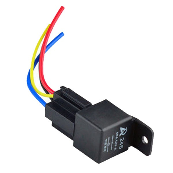1Pcs 12V 12Volt 40A Auto Automotive Relay Socket 40 Amp 4 Pin Relay  Pin Volt Relay Wiring on 40 amp relay, 4 prong relay, 5 pin 12 volt relay, 12 volt 30 amp relay, 12 volt latching relay, wire 12 volt relay, 12 volt 50 amp relay, yl 388 s relay, 4 pole 12v relay, 60 amp 12 volt relay, 12v 30a relay, 24 volt relay, 4 pin 28 volt relay,
