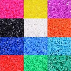 rainbow, Womens Accessories, minirubberband, rubberstring
