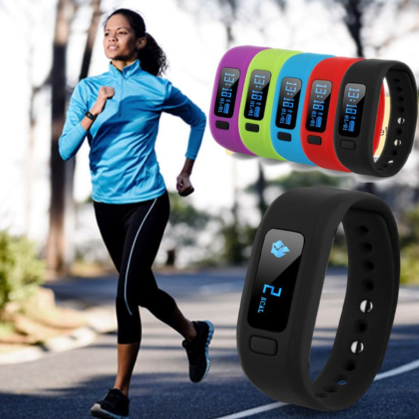 Picture of Ship From Us Warehouseexcelvan Moving Up2 Smart Healthy Bracelet Bluetooth V4.0 Wristband With Pedometer / Sleep Monitoring / Tracking Calorie/remote Capture