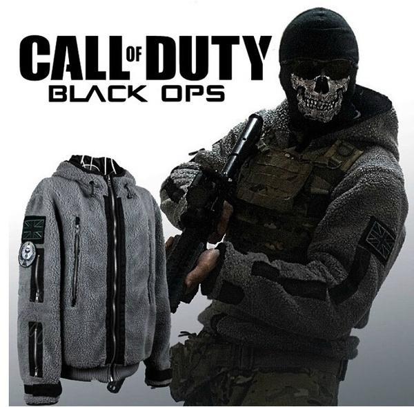 ZAKALAKA® Call of duty Modern Warfare 2 Ghost Coat Jacket hoodie Costume  Cosplay