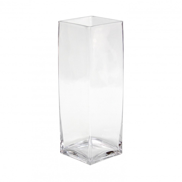 Wish Koyal Wholesale 12 Pack Tall Square Glass Vases 4 By 12 Inch