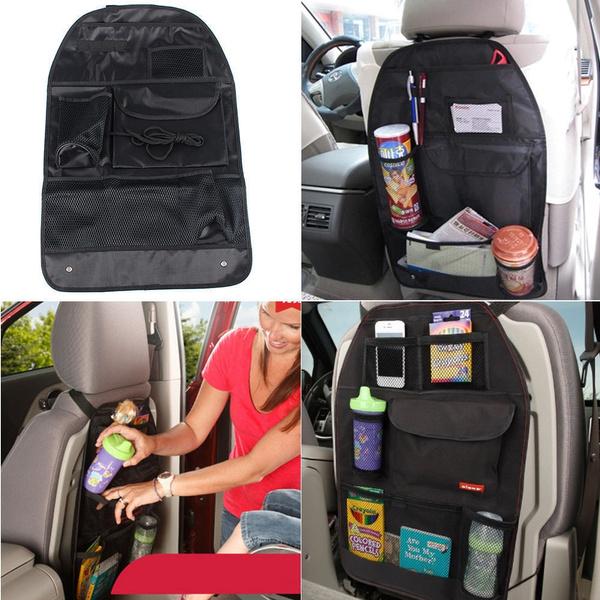 Car Back Seat Protector Multi-Pocket Organizer Storage Bag HOT SALE