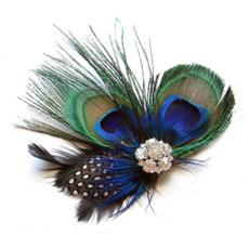 cute, peacock, peacockhairpin, bobbypin