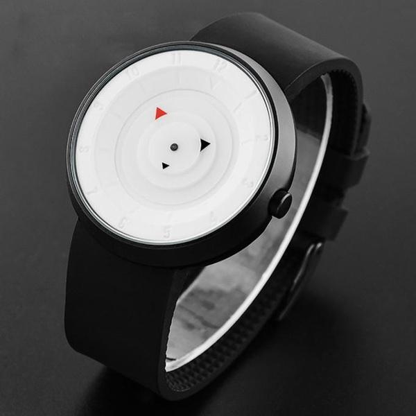 Men Luxury Stainless Steel Analog Quartz Sport Wrist Watch Tops