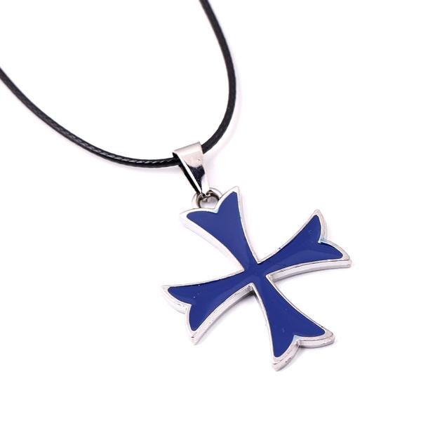 Wish Assassins Creed Rogue Knights Templar Symbol Cross Pendant