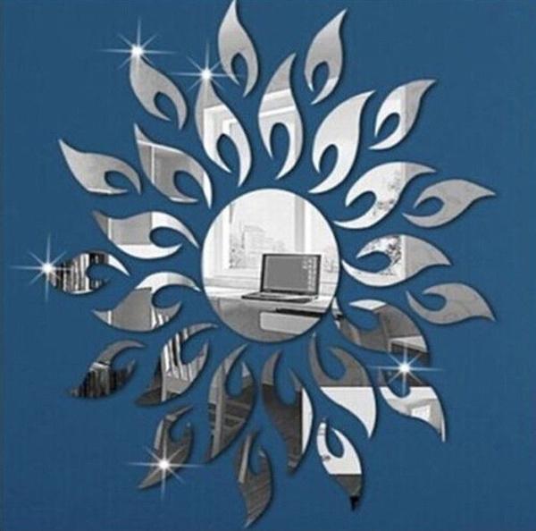 Decor, room, Sunflowers, Stickers