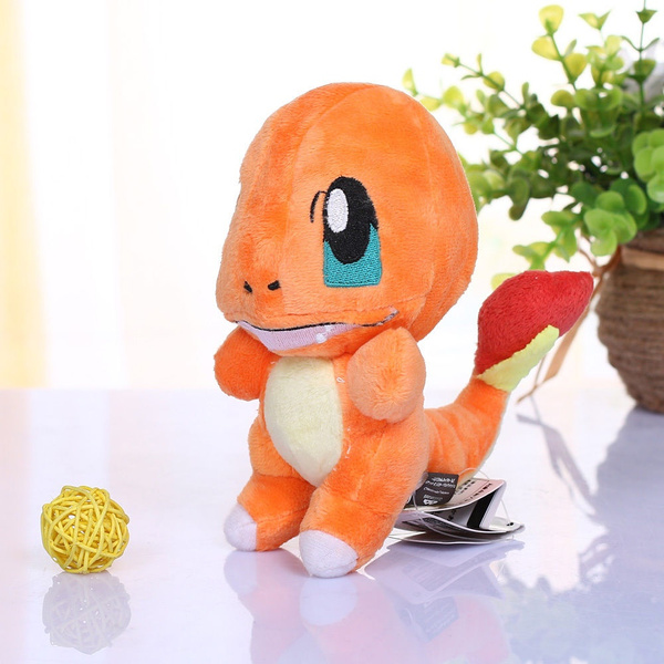 Pokemon Plush Toy Charmander 6in Collectible Game Figure Stuffed Animal Doll NEW
