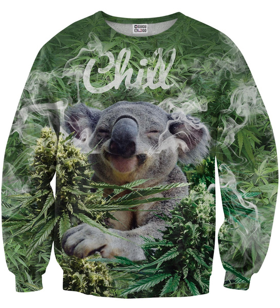 a159a4eec57d74 KOALA CHILL SWEATER Blouse Pullover Unisex Mr. GUGU & Miss GO ...