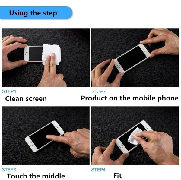 HD tempered glass screen protective film protector for iPhone