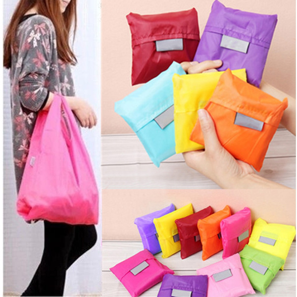 Picture of 2 Pcs Reusable Storage Eco Friendly Shopping Bag Grocery Bags Tote
