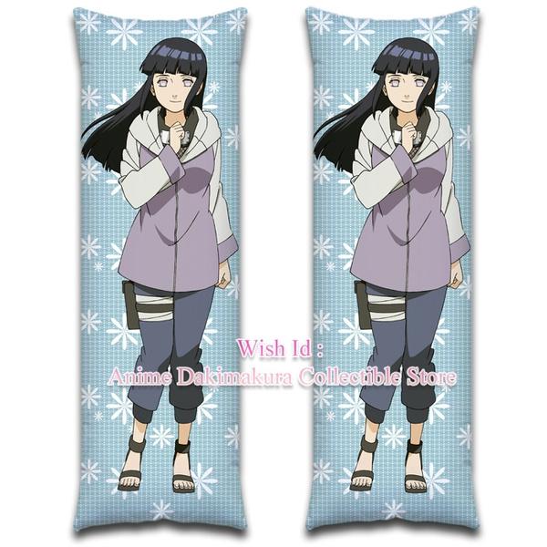 Anime Dakimakura Hugging Body Pillow  case NARUTO  Hyuga Hinata