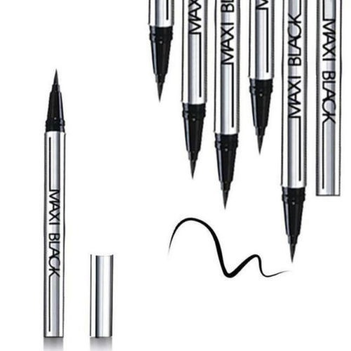 2 X NEWEST Women Ladies Extreme Black Liquid Eyeliner Waterproof Make Up Eye Liner Pencil Pen HOT Makeup Beauty Tool