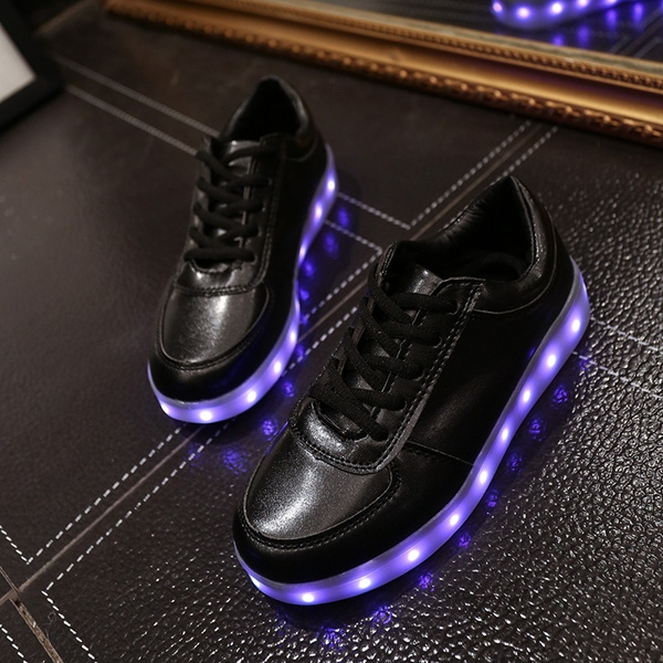 wish 11 color basket led shoes women men 2016 led shoes for adults light up shoes luminous chaussure lumineuse basket femme - Basket Femme Color