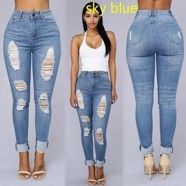 Sexy denim jeans