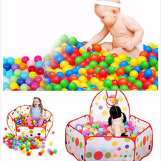 50/100pcs Quality Secure Baby Kid Pit Toy Swim Fun Colorful Soft Plastic Ocean Ball