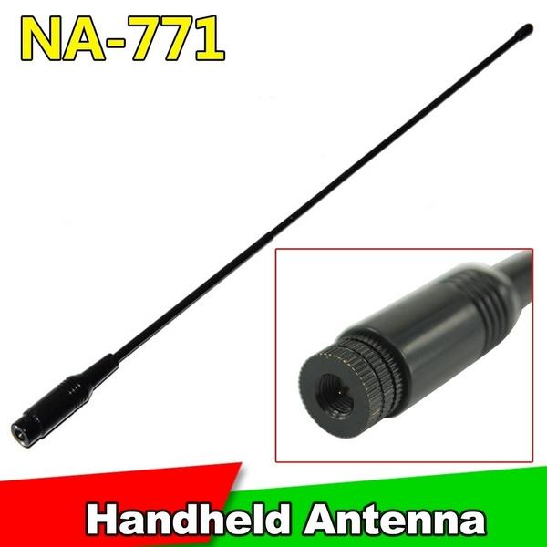 High Quality Handheld NA-771 SMA-M SMA-Male Dual Band Soft Antenna For  144/430MHz Baofeng Nagoya Na-771