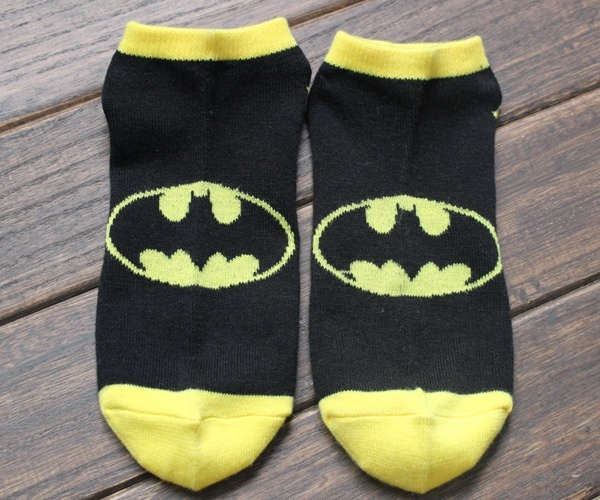 Men and Women Superman Batman Socks Shallow Mouth Socks Lovers Socks