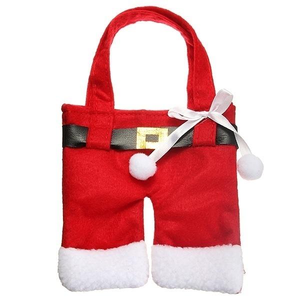 一套六圣诞圣诞老人银器餐具HOLDER口袋晚餐DECOR