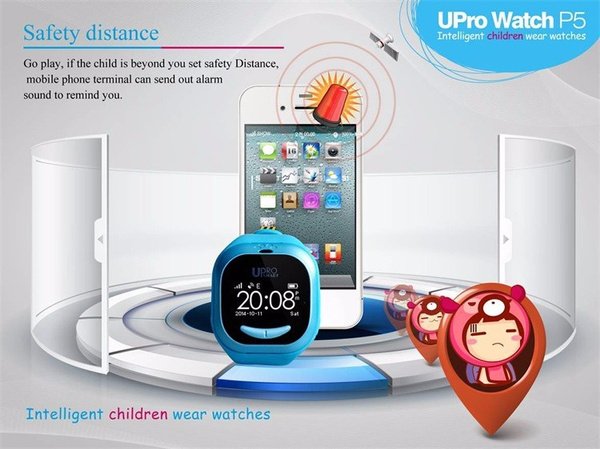 New Smart Watch UPro GPS WIFI Orologio Bluetooth Intelligente Bambini  Smartwatch SIM Telefono