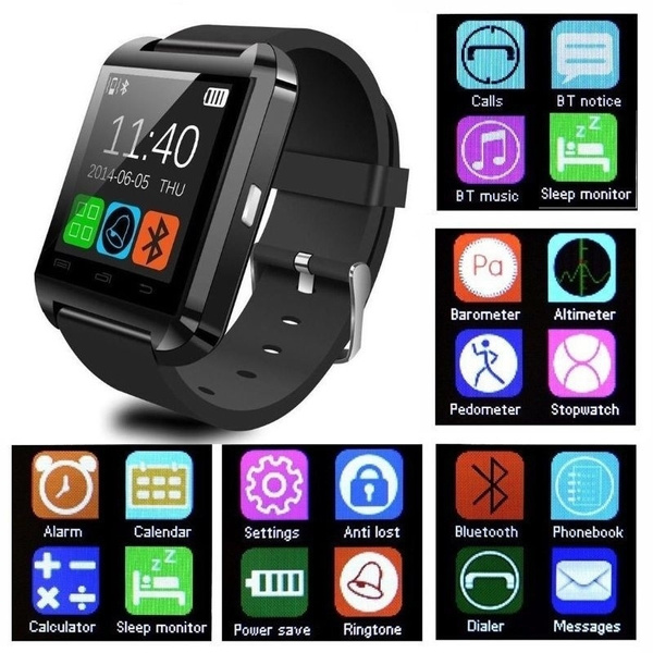 Picture of U8 Smart Watch Bluetooth Watch Phone Mate Watch For Android