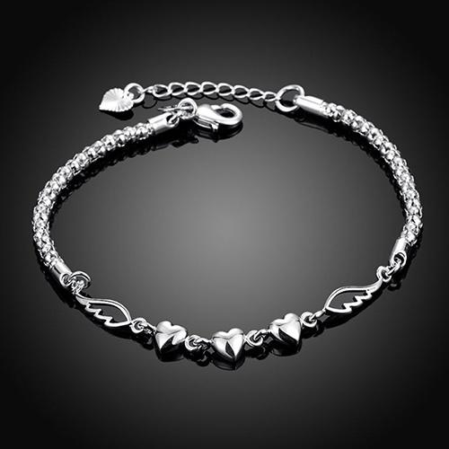 Charm Bracelet, infinity bracelet, Love, Jewelry