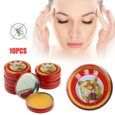 Healthy Care 24Pieces/Lot Hot Sale Tiger Head Menthol Balm Refreshing Relief Headache Oil for Summer FAGOD
