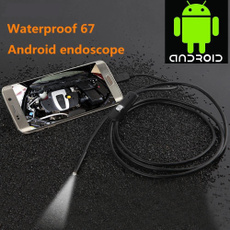 7mm 1M / 2M / 3.5M Android OTG Phone Endoscope IP67 Inspection Borescope Tube LED Camera