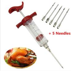 Needles, Meat, cookbbqinjector, kitcheninjector